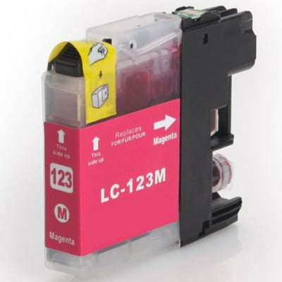 LC123 Brother kompatibilna kartuša (magenta)