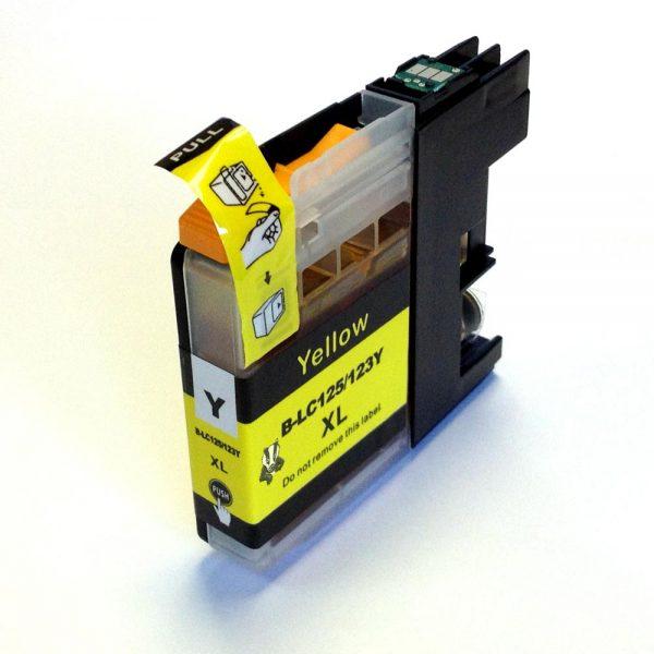 LC123 Brother kompatibilna kartuša (yellow)