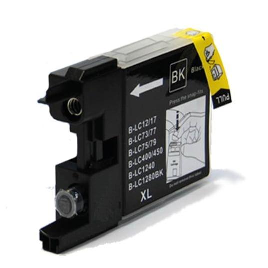 LC1280 Brother kompatibilna kartuša (črna)