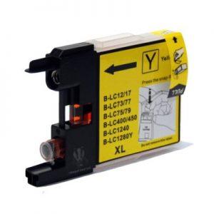 LC1280 Brother kompaktibilna tinta (žuta)