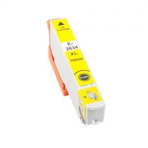 T2634XL za Epson kompatibilna kartuša (rumena)