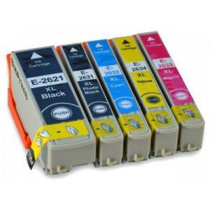 T2621, T2631-T2634 Epson komplet kompaktibilnih tinta (4 boje)