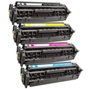 CC530A-CC533A komplet 4 tonerjev za HP, Canon