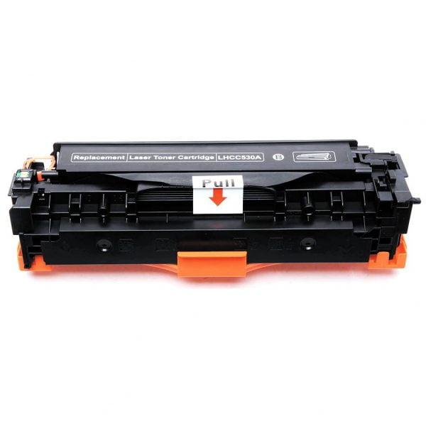 CC530A za HP, Canon kompatibilen toner (črn)
