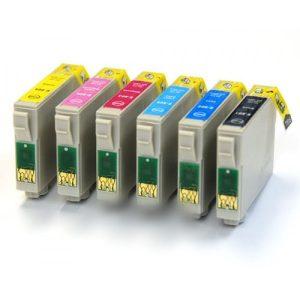 T0801 - T0806 Epson komplet 7 kartuš (6 barv)
