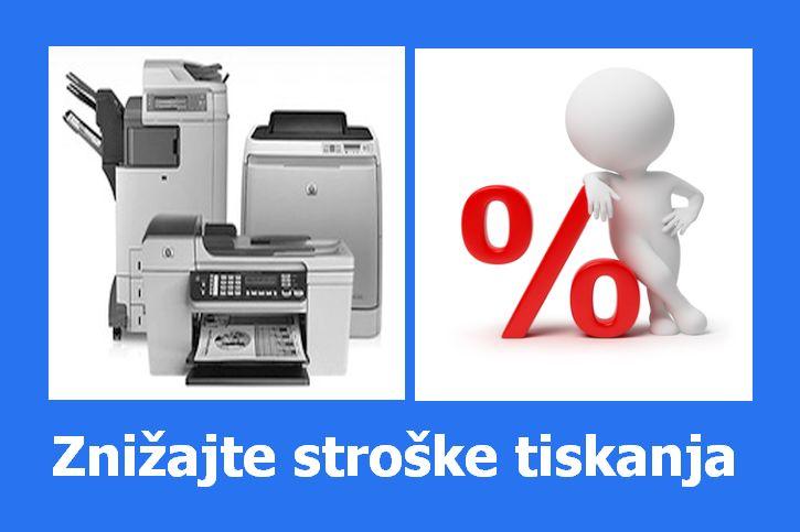 optimizirajte stroške tiskanja