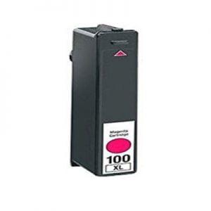 Lexmark 100 kompatibilna kartuša (magenta)