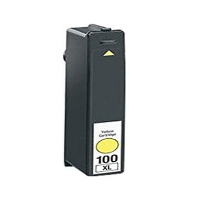 Lexmark 100 kompatibilna kartuša (rumena)
