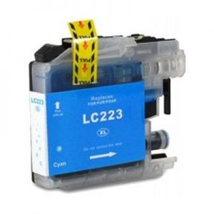 LC223 Brother kompatibilna kartuša (cyan)