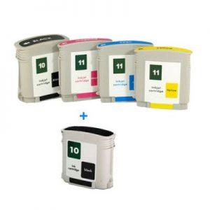 HP10 i HP11 komplet 5 tinta (4 boje)