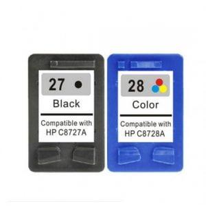 HP 27 in HP 28 za HP komplet kartuš