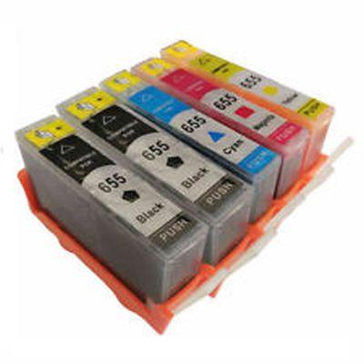HP655 za HP komplet 5 kartuš (4 barve)