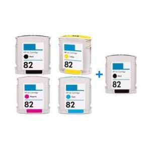HP 82XL za HP komplet 5 tinta (4 boje)