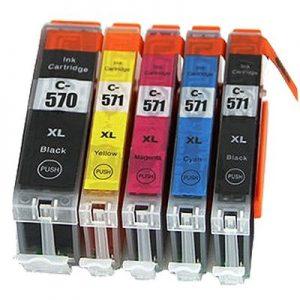 CLI570, PGI571 za Canon komplet 5 kartuš (4 barve)