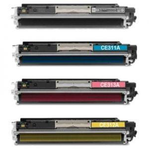 CE310A - CE313A komplet 4 tonerjev za HP, Canon