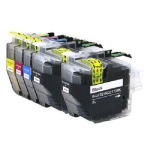 Komplet 5 kompatibilnih kartuš LC3219 za Brother